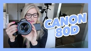 Canon 80d unboxing and review | iJustine