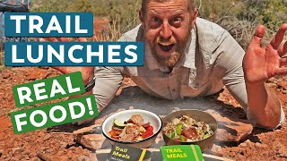 2 Backpacking Lunches to Get Excited About | Camp Cooking with Chef Corso