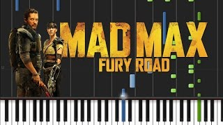 Mad Max Fury Road - Brothers In Arms [Synthesia Tutorial]