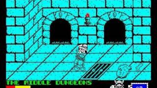 Spike in Transylvania Walkthrough, ZX Spectrum