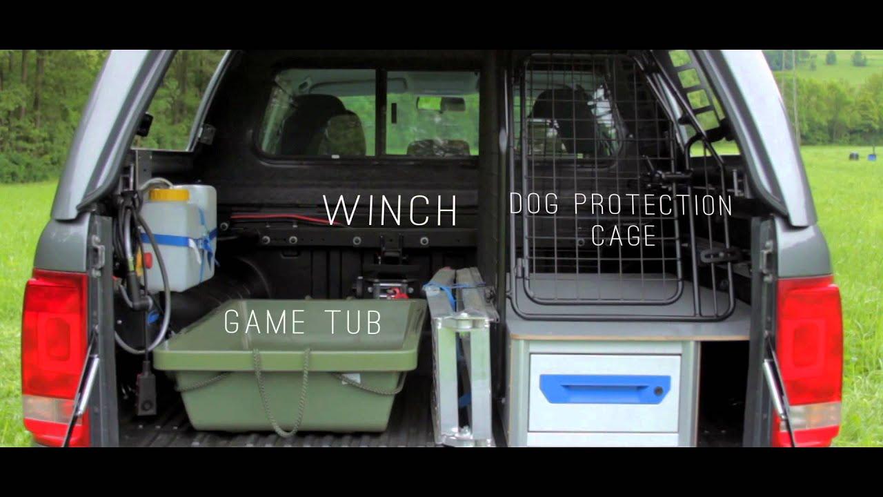 Range Rover Sport >> VW Amarok RH3 - Hunting Edition - YouTube