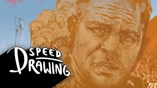Speed Drawing: Mad Max Fury Road