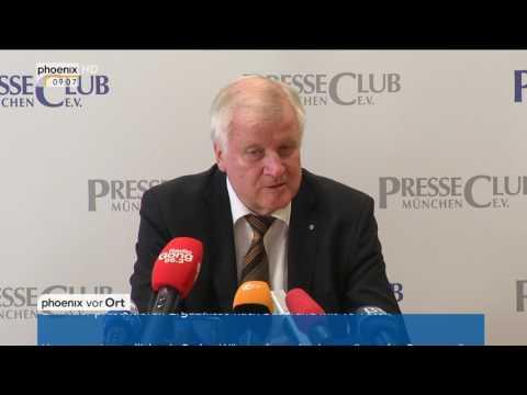 """Diesel-Skandal: Horst Seehofer zum """"Nationalen Forum Diesel"""" am 02.08.17"""