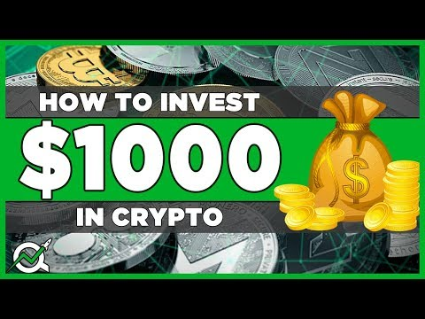 How to Invest $1000 in Cryptocurrency 2018 - My Crypto Portfolio Strategy