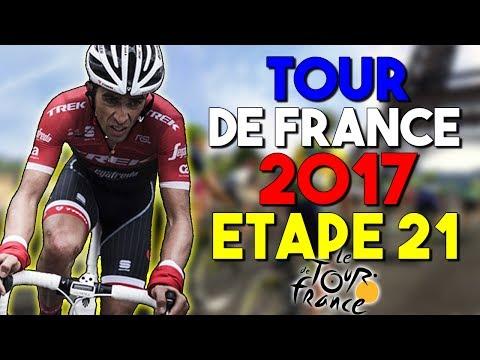 TOUR DE FRANCE 2017 | ETAPE 21 | Montgeron › Paris Champs-Élysées