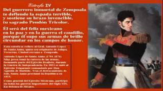 Himno Nacional Mexicano   (Cantadas sus 10 estrofas originales)