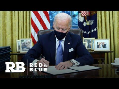 Biden signs executive actions to reverse Trump policies
