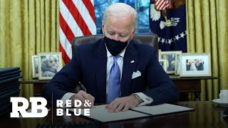 Biden signs executive actions to reverse Trump policies