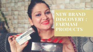 New Brand Discovery : Farmasi Products : Mini Haul 😇