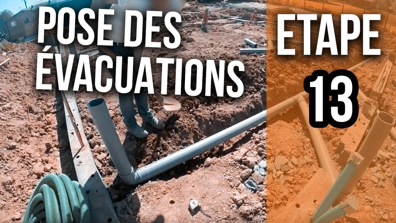 Pose Des évacuations Eu Et Wc Etape 13