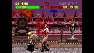 Mortal Kombat 2 - Baraka HD Playthrough