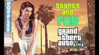 2 GTA 5 Трюки и приколы Stunts And Fun