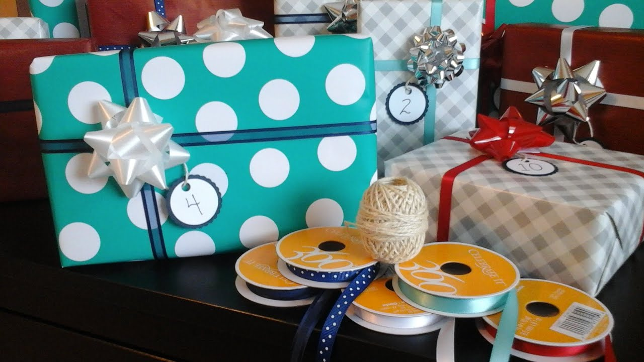 Baby shower prizes wrapping ideas