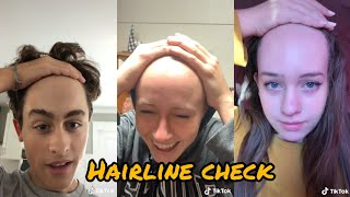 Hey yo  hairline check ~ tiktok compilation