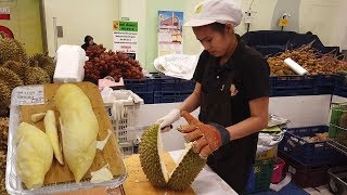Du lịch Thái Lan tự túc|Ăn sầu riêng monthong xem cách khui sầu riêng của người Thái Lan