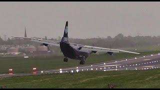 Birmingham Airport BHX CrossWind Landings!!