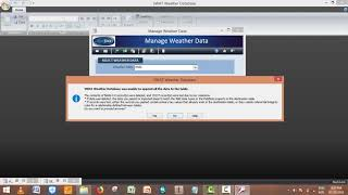 Weather generator for arc SWAT Database