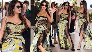 Priyanka Chopra Looking H0TT In Her Green 0ppen Dress @ Airport