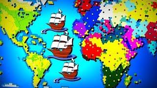 All Old World Nations Battle for Earth! | Civ 6 (Civilization)