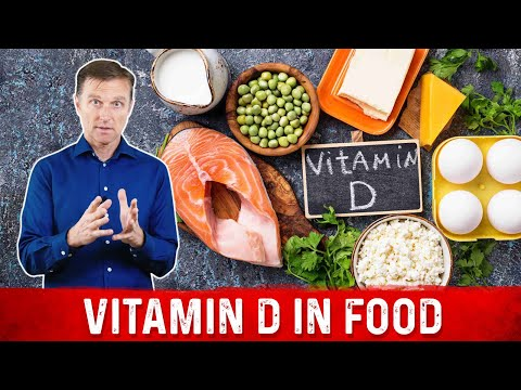 Vitamin D: How Much Food Would You Have to Eat?