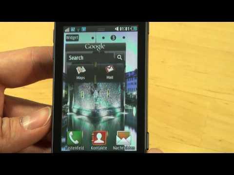 Samsung S7230 Wave 723 Test Bedienung