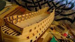 Building Wooden Model Of Hms Victory Part I