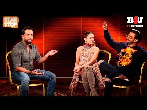 Simmba | Exclusive Interview | Ranveer Singh, Sara Ali Khan | B4U Star Stop