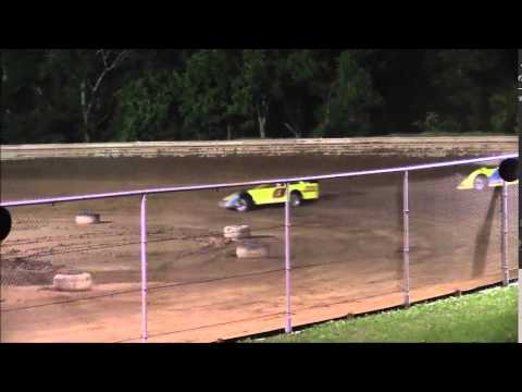 AMRA Late Model Heat #2 from Ohio Valley Speedway 5/30/15.