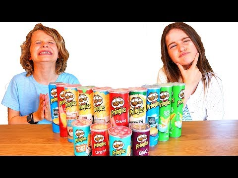 DON'T CHOOSE the wrong PRINGLES Slime Challenge ft The Norris Nuts