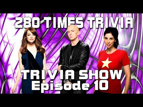 The Trivia Show Challenge 10 With Question about Eminem, Kat Dennings, NHL, Tom Hardy And Way More.