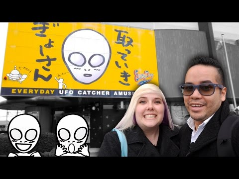 The biggest UFO catcher claw machine arcade in the world! Everyday UFO in Japan!