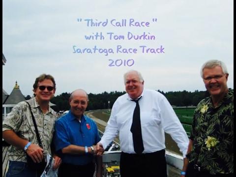 Third Race Call with Tom Durkin Aug,  2010 Saratoga New York Race Track