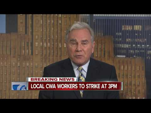 CWA workers for AT&T to go on limited strike today