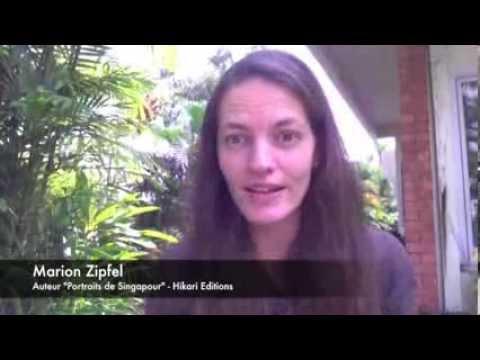 Portraits de Singapour - Rencontre avec Marion Zipfel