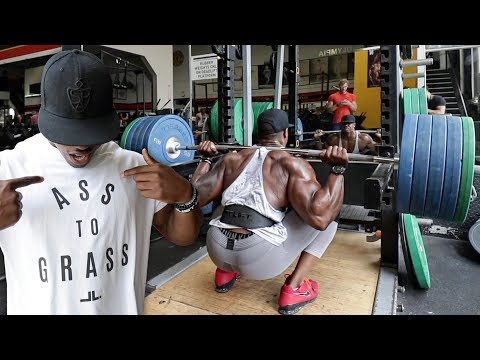 THE DEEPEST SQUAT SESSION EVER WITH SIMEON PANDA, MISCHA JANIEC & YANNIS KARRER