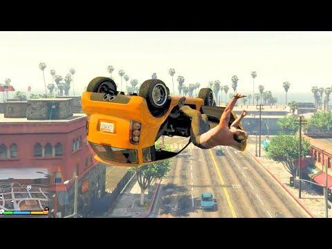 GTA V Unbelievable CrashesFalls - Episode 111