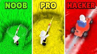 🤢 NOOB vs 😎 PRO vs 👺 HACKER -  Mow My Lawn - Cutting Grass | Download App Store APK screenshot 4