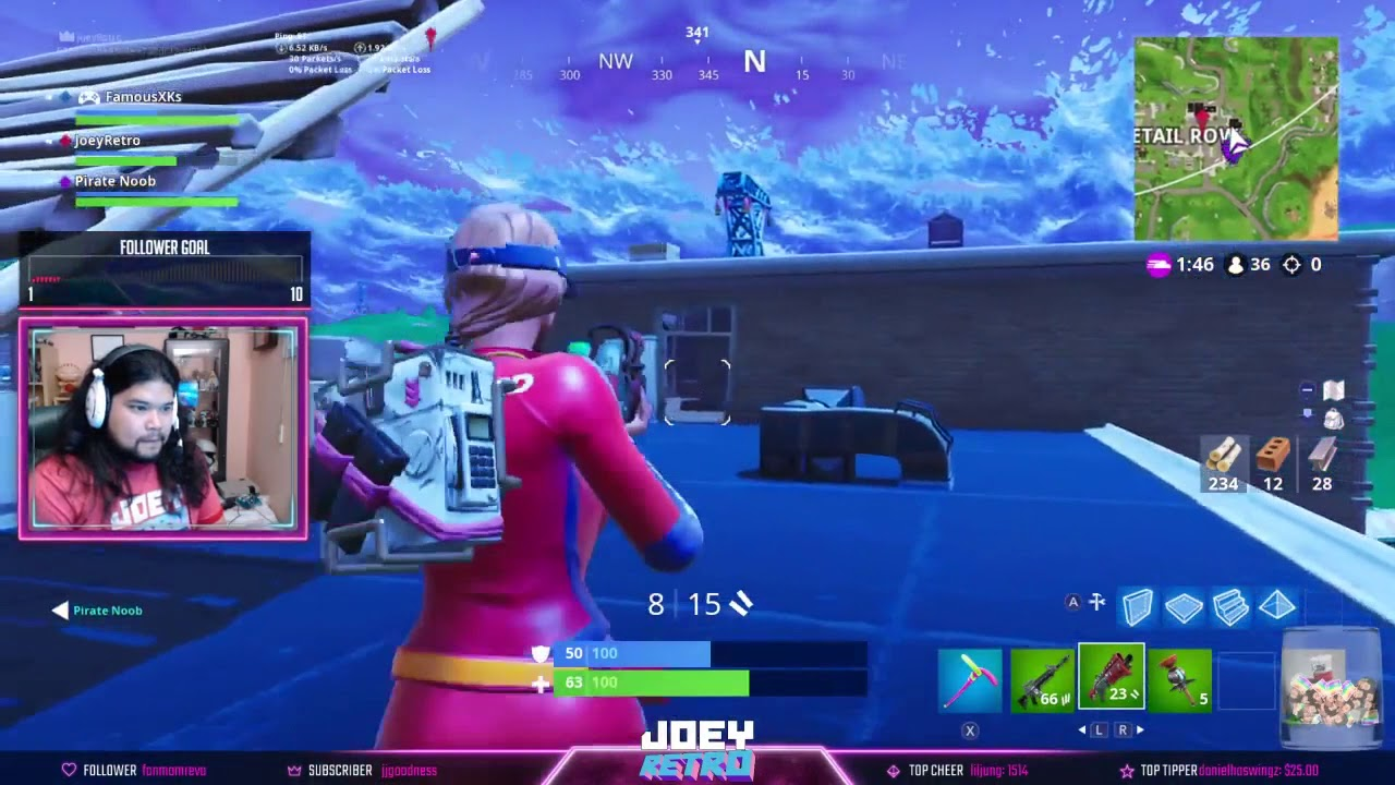 Invisible Characters in Fortnite Nintendo Switch Version