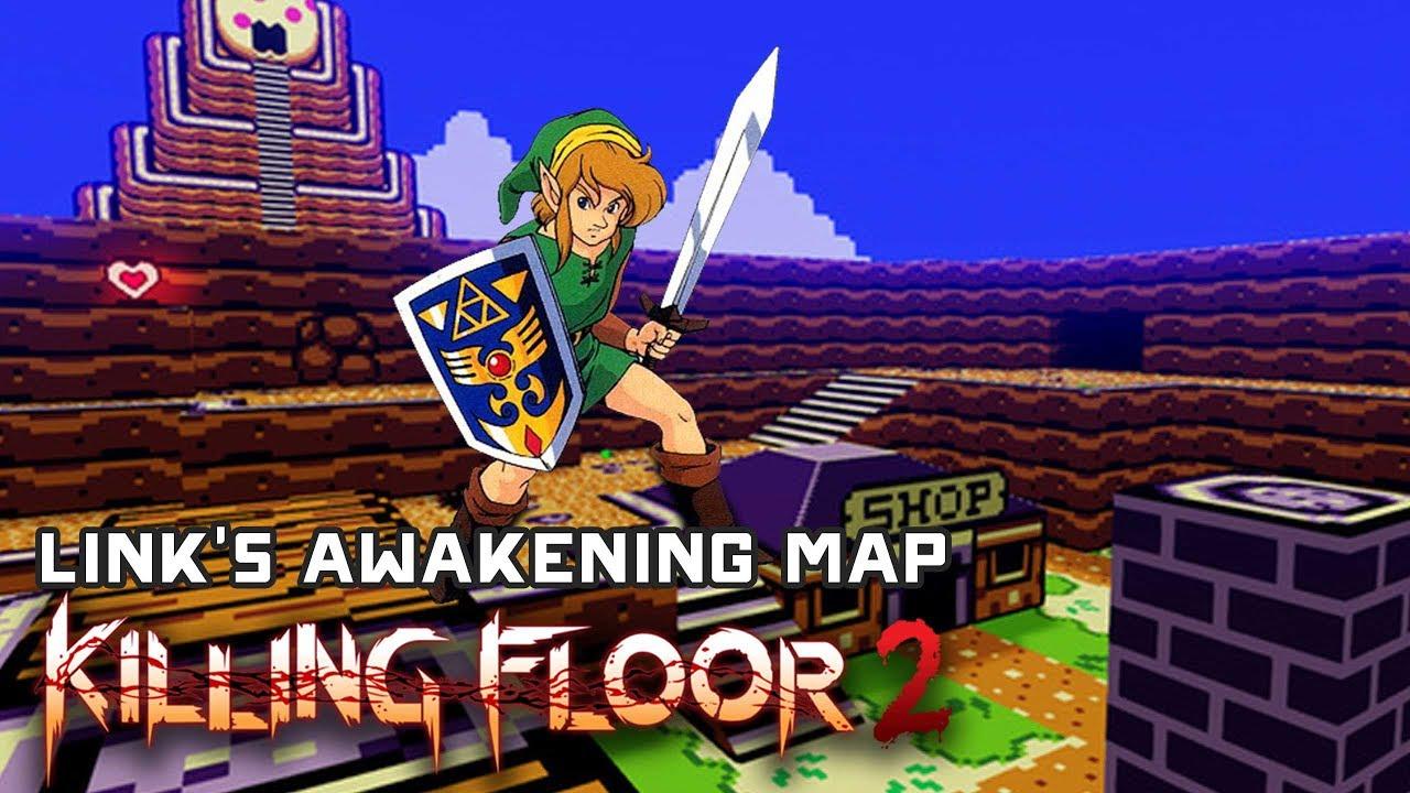 Legend Of Zelda Link S Awakening Map Remake Killing Floor 2 Custom Maps