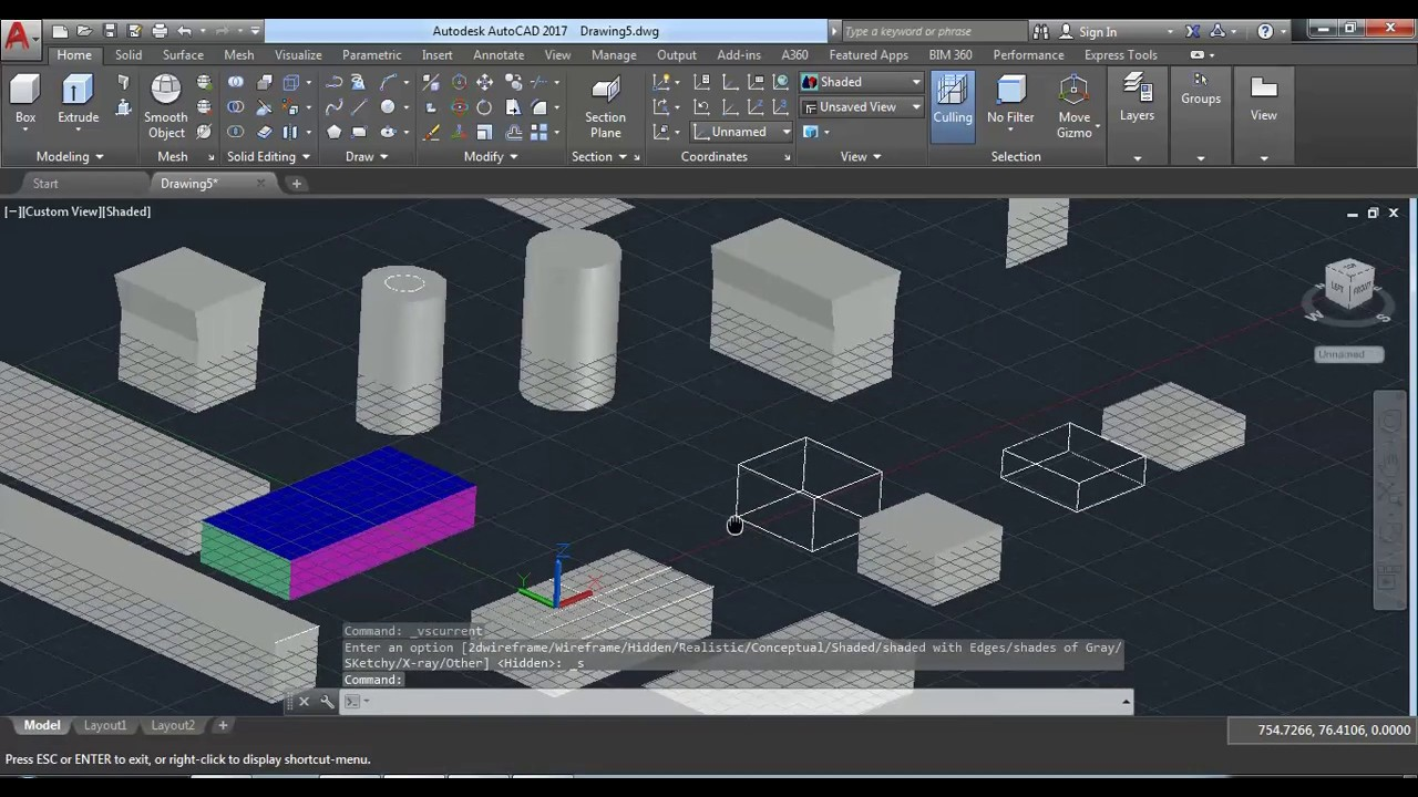 AUTOCAD 2018 3D SOLID EDITING HINDI TUTORIAL | AUTOCAD 3D ...