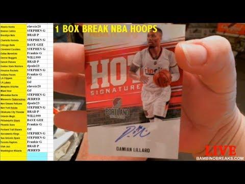 2017 Hoops Basketball 1 Box Break #101 Random Teams