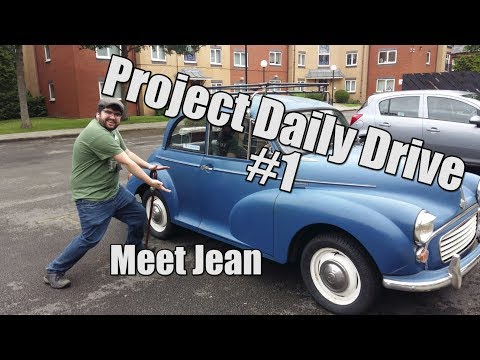 Morris Minor - Meet Jean - Project Daily Drive #1