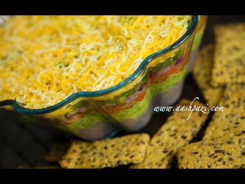 Black Beans Layered Dip Recipe