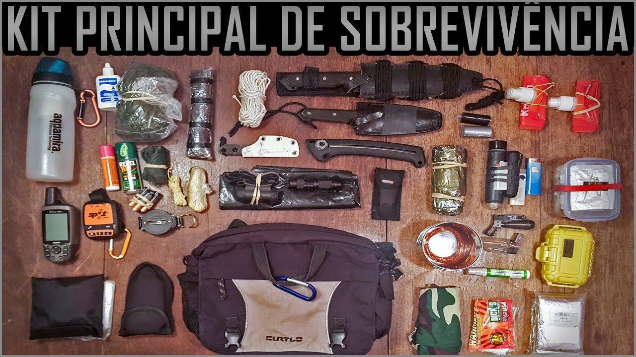 Meu kit de sobreviv ncia principal para expedi es for Kit para toldos de enrollar