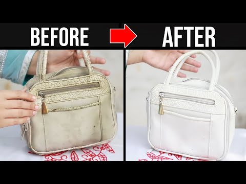 How to Clean Dirty Leather Hand Bag at Home | Easy Trick