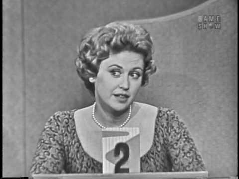To Tell the Truth - TV weathergirl; PANEL: Monique Van Vooren (Nov 19, 1959)