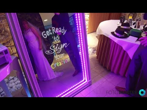 Mirror Me Booth at Events: Wedding