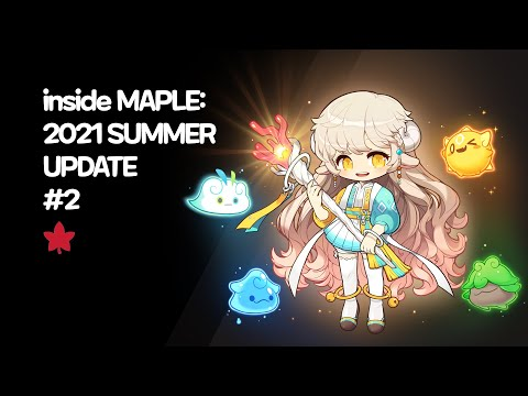Inside MAPLE: 2021 SUMMER UPDATE #2