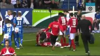 Worst football tackle 2011