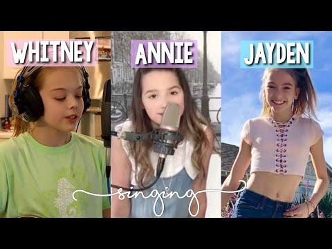 Whitney Bjerken   Annie LeBlanc   Jayden Bartels singing   April Bradley